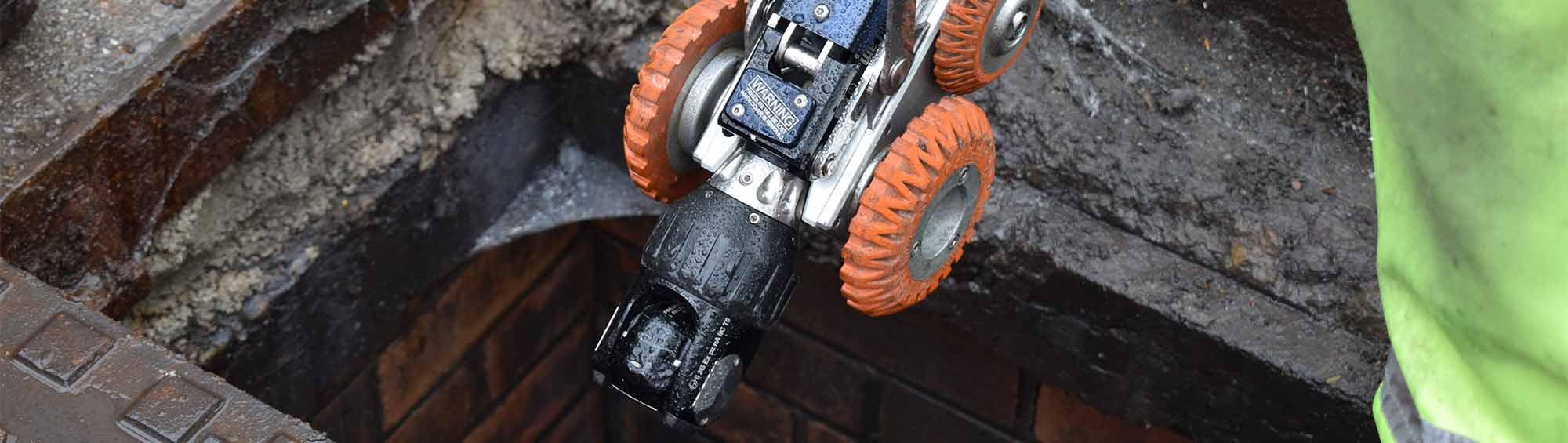 cctv drain survey camera