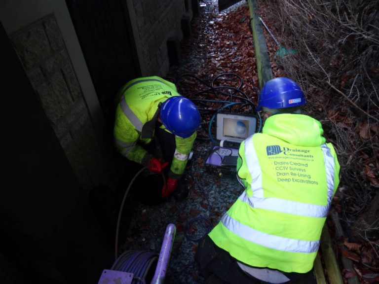 What Happens When We Inspect Your Drains?