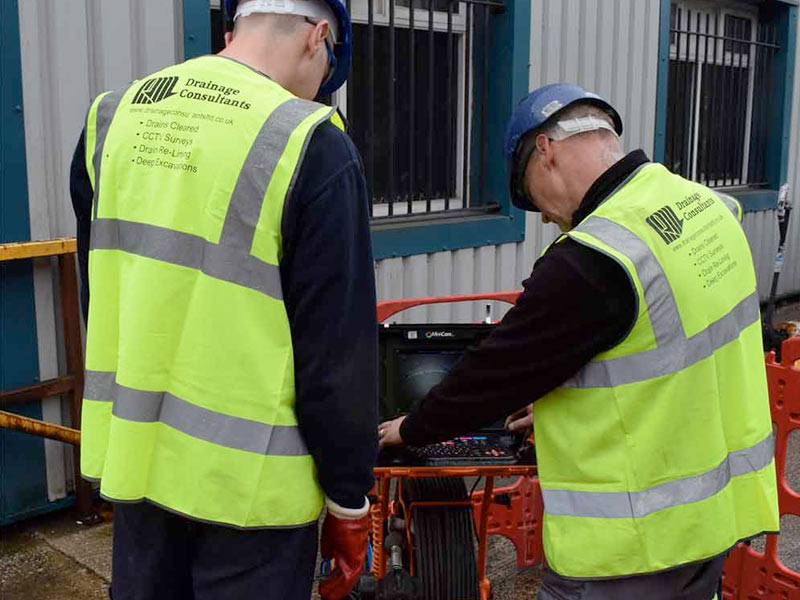CCTV Drainage consultants