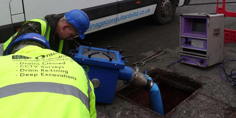drain line repairs