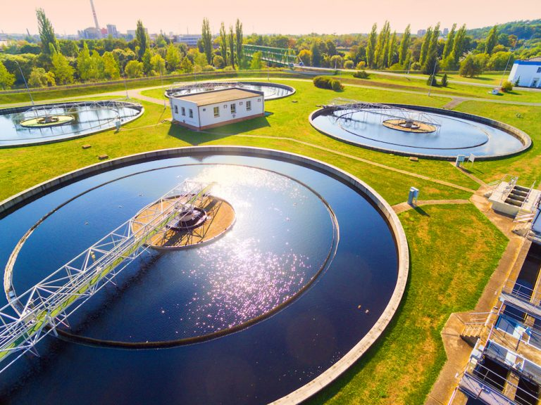 Installing a Sewage Treatment Plant